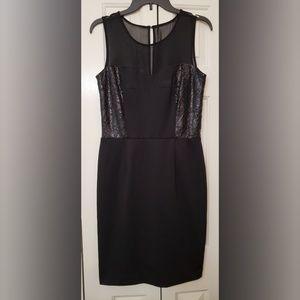 VINCE CAMUTO Sleeveless Crepe Sheath Dress 8 NWT
